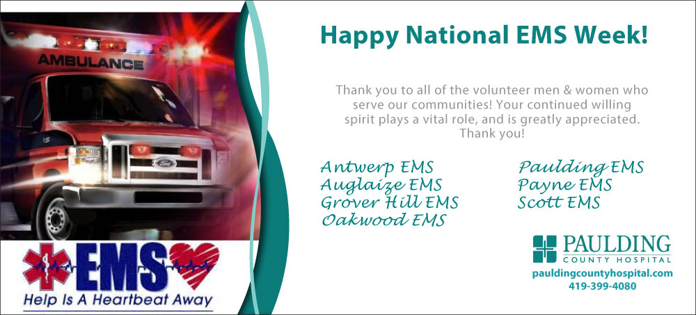 Happy National EMS Week!
